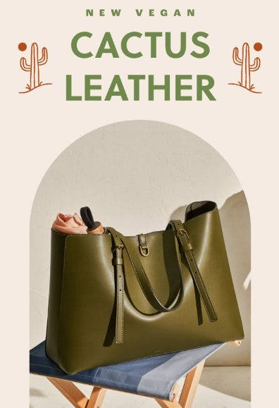 Introducing Kier in Cactus Leather