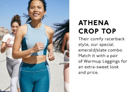 Athena Crop Top
