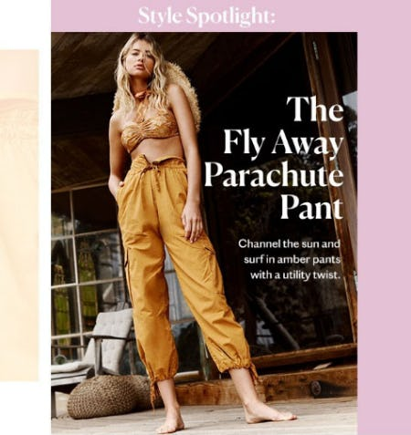 The Fly Away Parachute Pant from Free People