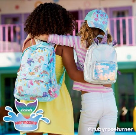 We're Ready For a Summer Adventure! from Claire's