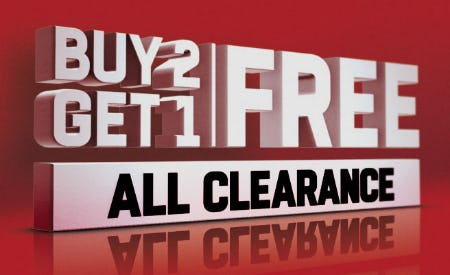 B2G1 Free All Clearance from Lids