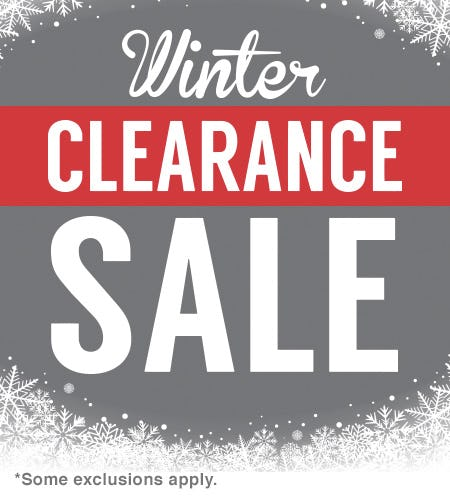 Winter Clearance Sale! from Shoe Dept.