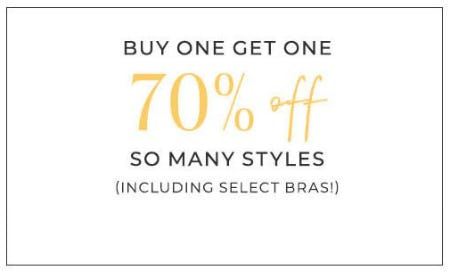 Buy One, Get One 70% Off So Many Styles