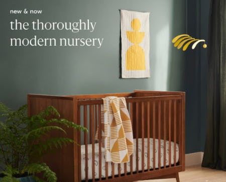 New & Now: The Thoroughly Modern Nursery