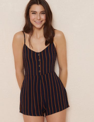 The Striped Romper from Garage