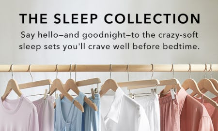 The Sleep Collection from Athleta
