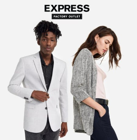 40% Off Everything for Her + Hundreds of New Markdowns Added to Clearance Save Up to 70% from Express Factory