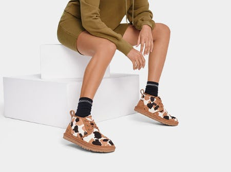 Just in: Cow Print from Ugg
