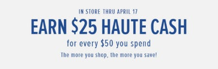 $25 Haute Cash from Torrid