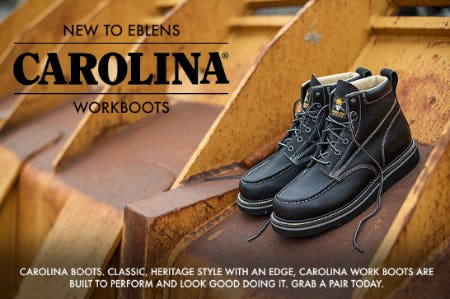 Carolina Work Boots from EbLens Clothing and Footwear