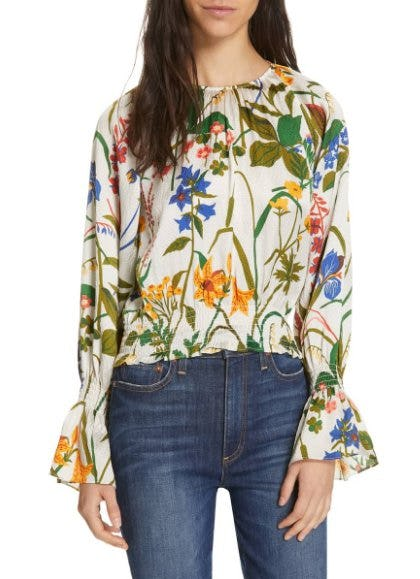 Adania Floral Print Silk Blouse from Nordstrom