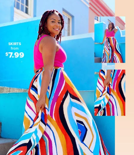 Skirts From $7.99 from Rainbow
