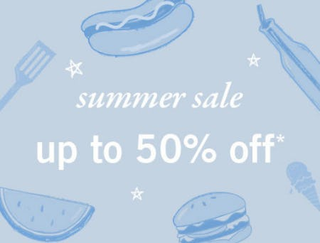 Up to 50% Off Summer Sale from Abercrombie Kids