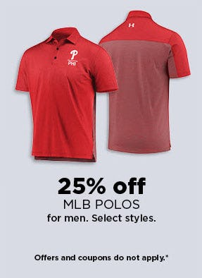 25% Off MLB Polos from Kohl's