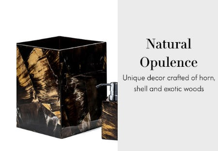 Natural Opulence from Neiman Marcus