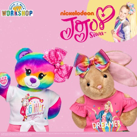 Be Your Selfie with NEW JoJo Siwa Arrivals at Build-A-Bear Workshop!®