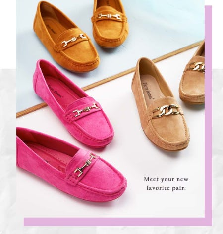 Shop New Flats from Versona