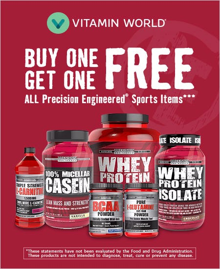 BOGO FREE All Precision Engineered Sports Items