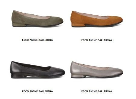 New Anine Styles from ECCO