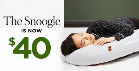 The Snoogle Now at $40 from A Pea In The Pod