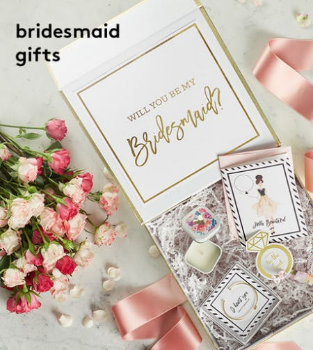 Bridesmaid Gifts from David's Bridal
