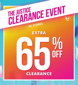 Extra 65% Off Clearance