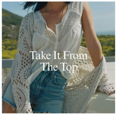 Tops for Summer from Lucky Brand Jeans