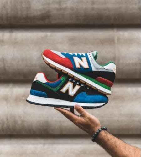 Good Looks: New Balance 574 Rugged from DTLR