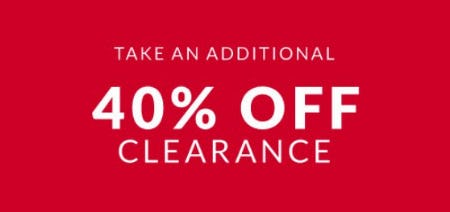 Take an Additional 40% Off Clearance from Lane Bryant