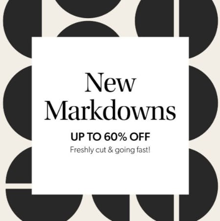Up to 60% Off New Markdowns from Evereve