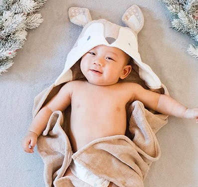 Cozy Bath Wraps from Pottery Barn Kids