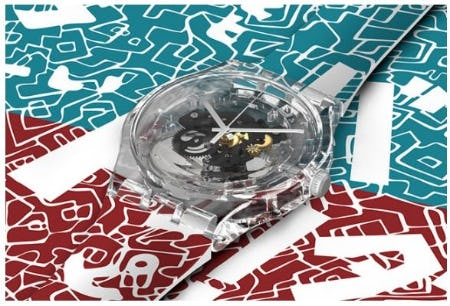 Discover Japan Calling! from Swatch