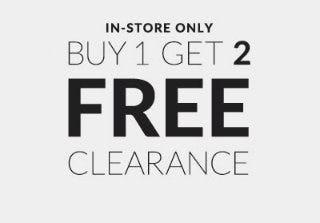 Buy 1, Get 2 Free Clearance from Charming Charlie