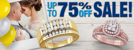 UP TO 75% OFF Fine Jewelry from Daniel's Jewelers