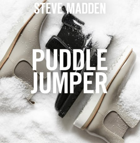 The Puddle Jumper from Steve Madden
