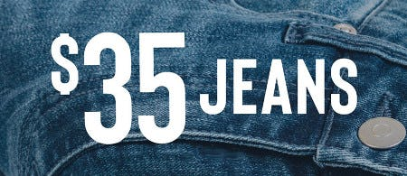 $35 Jeans from francesca's