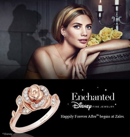 Fit For A Queen: Enchanted By Disney Fine Jewelry from Zales Jewelers