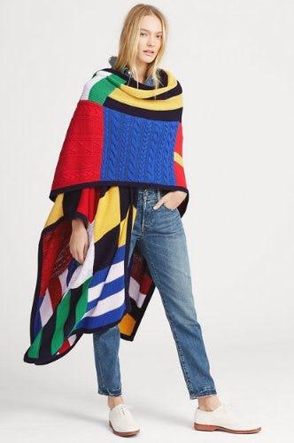 Print Cotton-Blend Sweater from Ralph Lauren