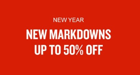 New Markdowns up to 50% Off from The Finish Line