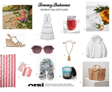 Mother's Day Gift Ideas from Tommy Bahama from Tommy Bahama