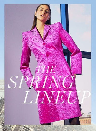 The Spring Lineup from Saks Fifth Avenue