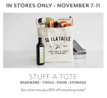 Stuff-A-Tote from Sur La Table
