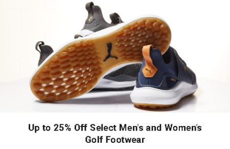 Up to 25% Off Select Men's and Women's Golf Footwear from Dick's Sporting Goods