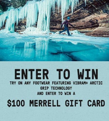 Win $100 Merrell Gift Card from Merrell