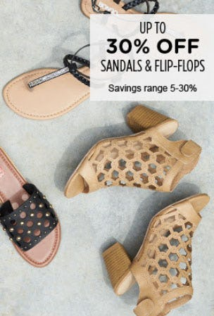 e8a6990445fa2 Up to 30% Off Sandals & Flip-Flops at Sears | Augusta Mall