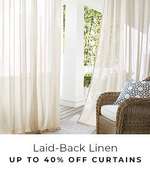 Up to 40% Off Curtains from Pottery Barn