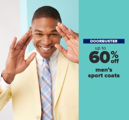 Up to 60% Off Men's Sport Coats