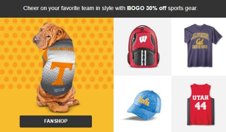 BOGO 30% Off Sports Gear from Target