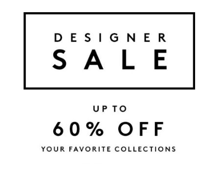 Up to 60% Off Designer Sale from Barneys New York
