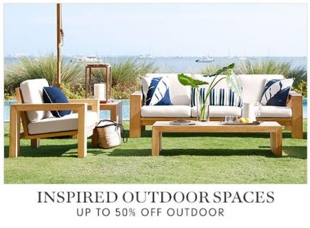 Up to 50% Off Outdoor from Williams-Sonoma